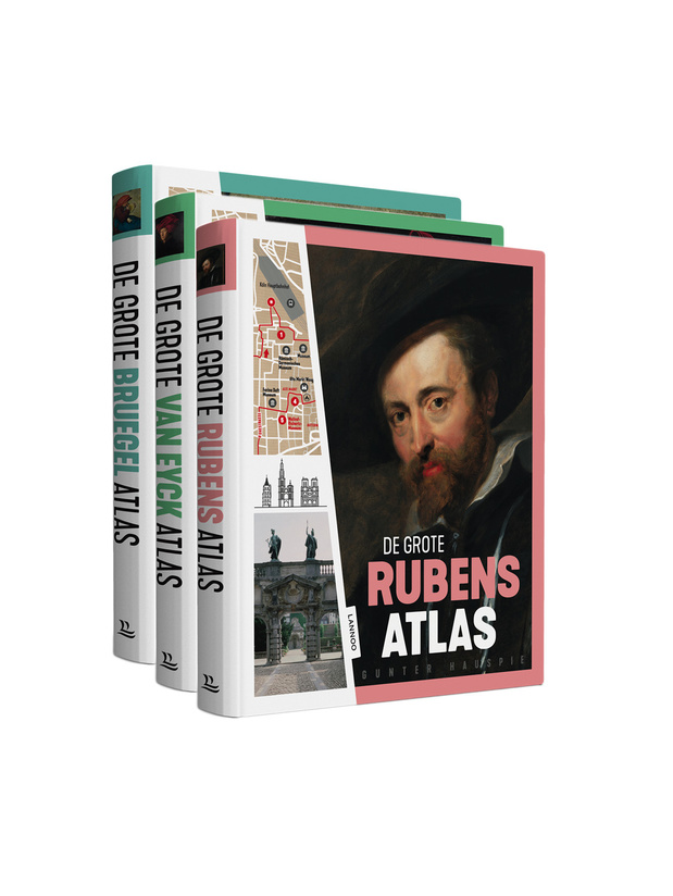 Stap in de voetsporen van onze Vlaamse meesters Bruegel, Rubens, Van Eyck