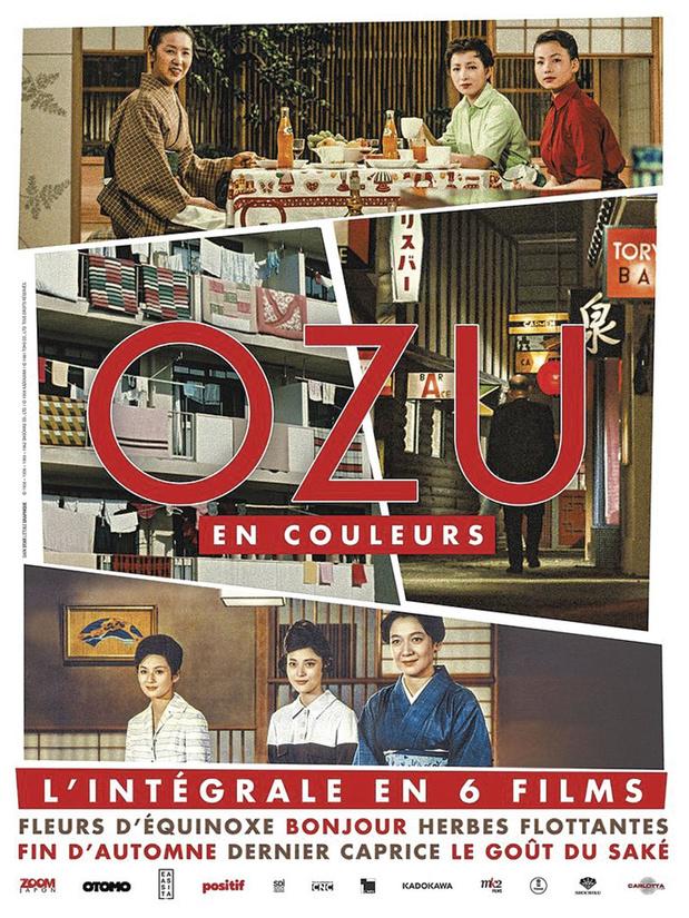 Ozu en couleurs Coffret de 6 Blu-ray