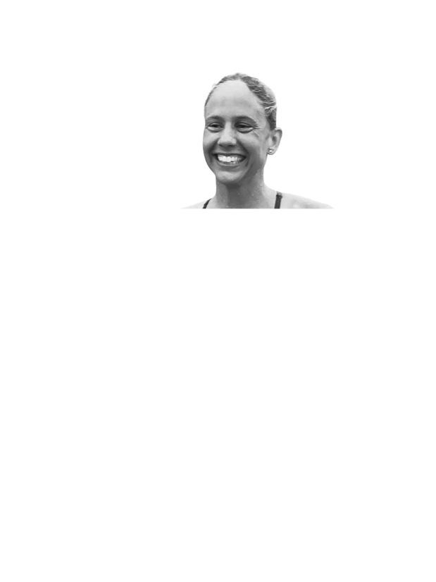 Chloe McCardell - Zwemster tegen huiselijk geweld