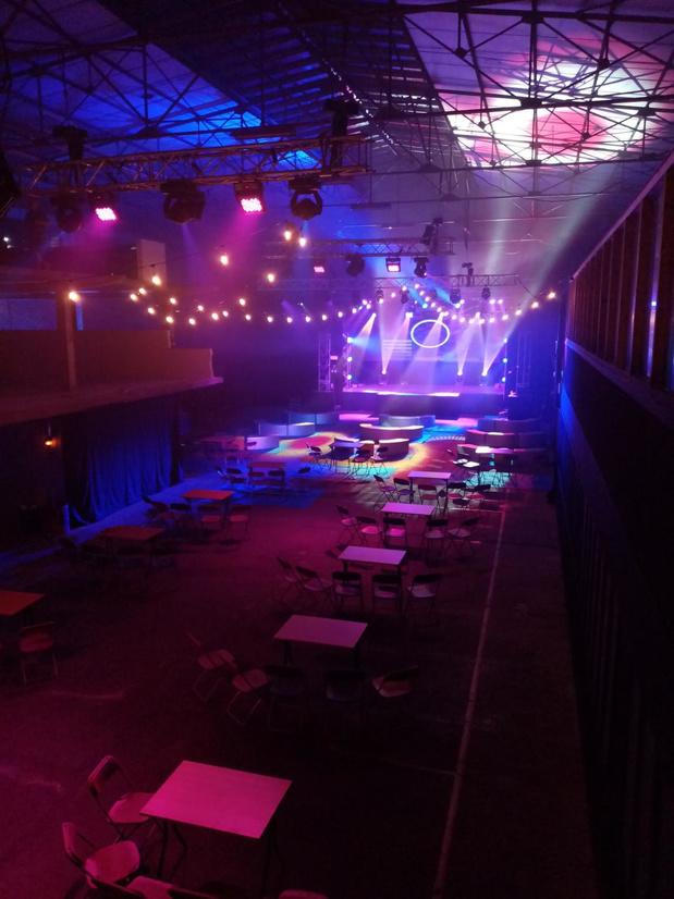 Eerste coronaveilige evenementenlocatie dit weekend van start in Rumbeke