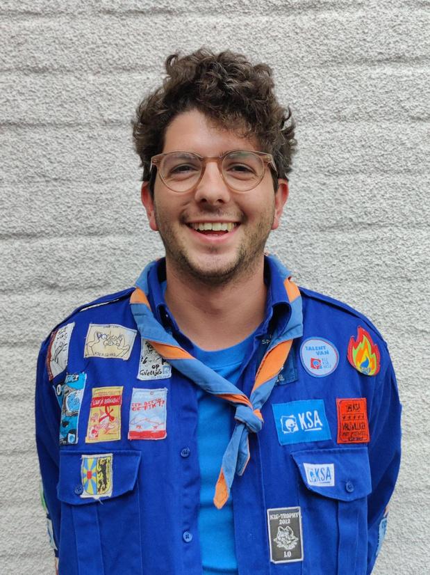 Veurnaar Benjamin Verhegge is de nieuwe nationale KSA-coördinator