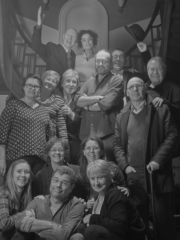 Laatste fotosessie met Johny Voners vond vorige maand plaats in Oostende