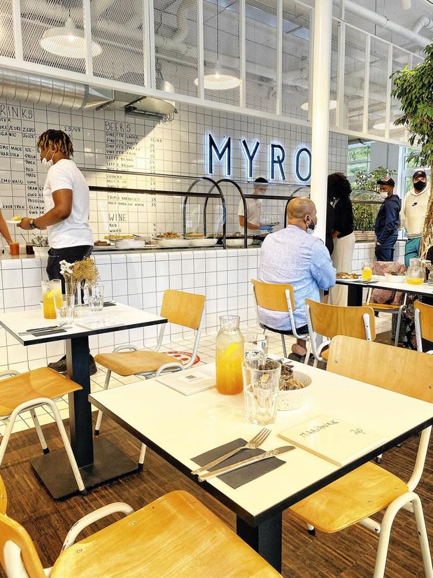 Le restaurant de la semaine: Myro, le brunch en couleurs