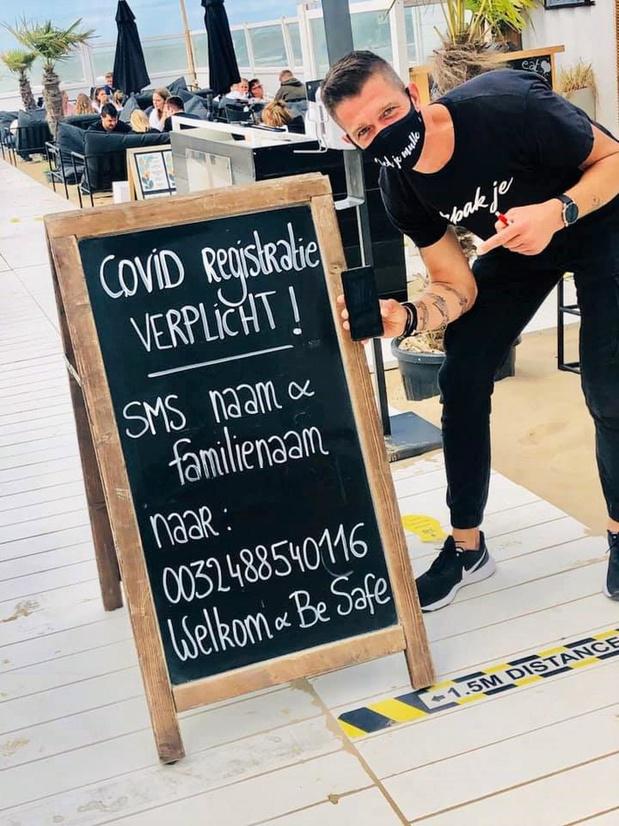 Uitbaters Bondi Beach in Oostende gaan creatief om met registratieplicht
