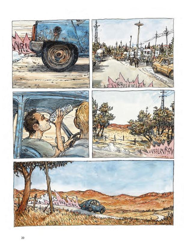 [la bd de la semaine] Visa Transit (tome 3), de Nicolas de Crécy: voyage, voyage