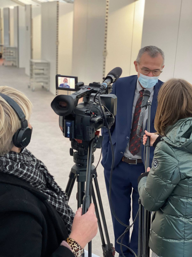 M. Vandenbroucke appelle à nouveau le personnel soignant à se faire vacciner