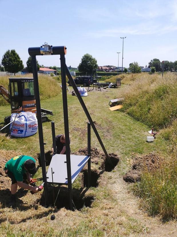 't Ravotterke krijgt kabelbaan van 25 meter lang