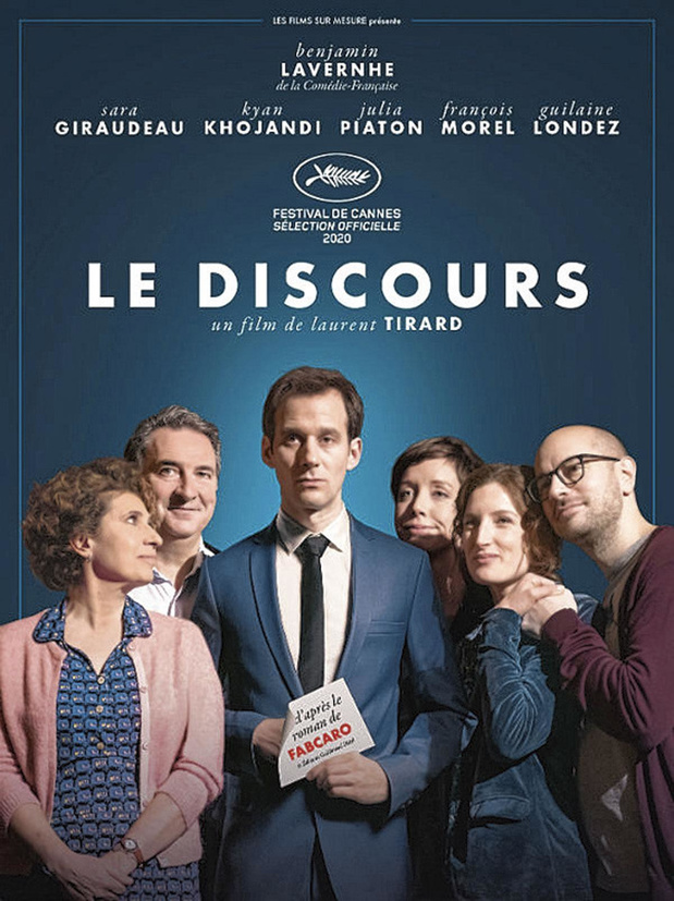 [critique ciné] Le Discours, savoureuse adaptation de Fabcaro