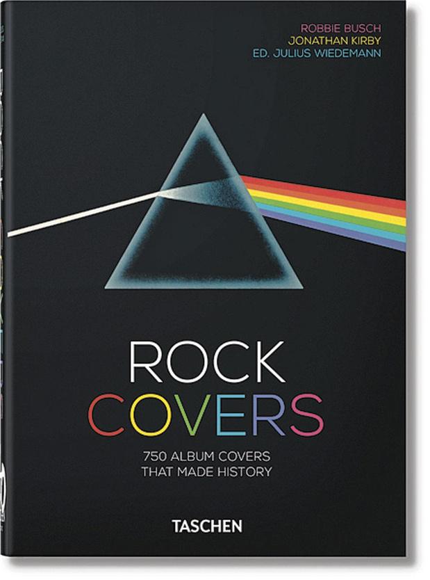 L'histoire du rock en pochettes