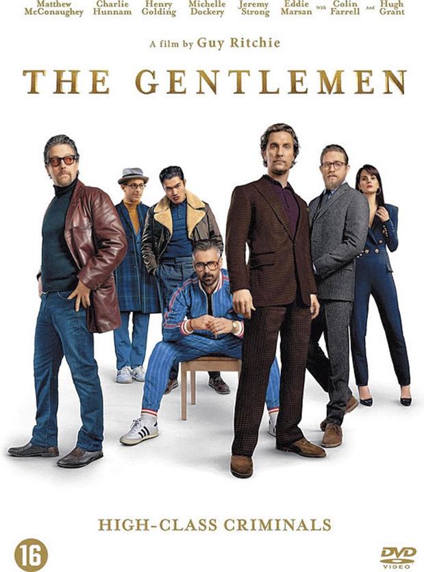 5x dvd The Gentlemen