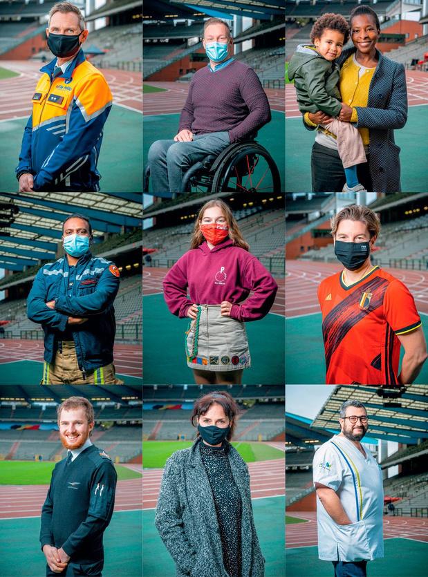 Covid: motiver l'équipe des onze millions de Belges