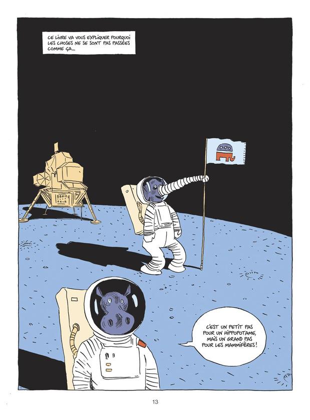 """Retour sur l'adaptation en bande dessinée du best-seller """"Sapiens"""""""