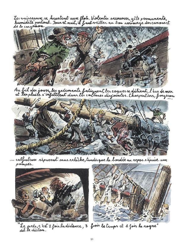 [la bd de la semaine] Le Voyage du commodore Anson: Master and Commander
