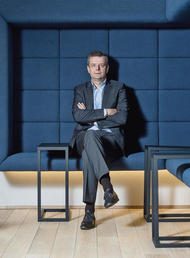 Thierry Ternier (CEO Keytrade Bank): 'Ongelofelijk wat sommige banken allemaal in hun app steken, maar is het nodig?'