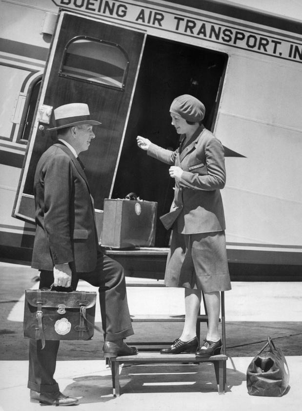 15 mai 1930: Ellen Church, première hôtesse de l'air