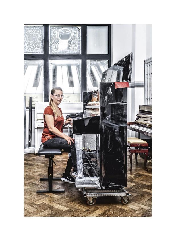 'Een piano stemmen is hard werken'
