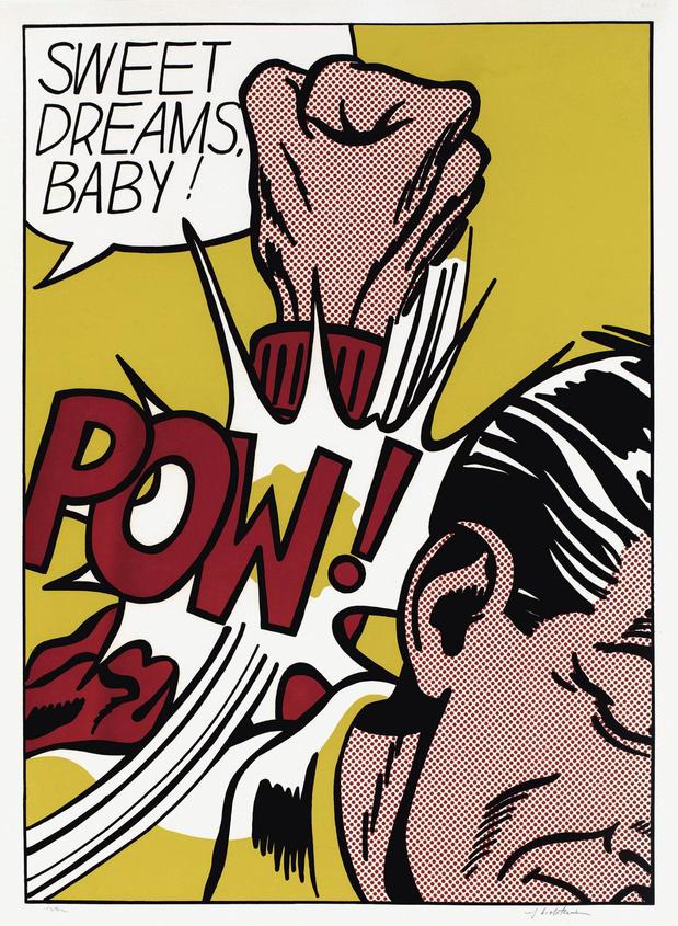 Roy Lichtenstein, le magicien des surfaces