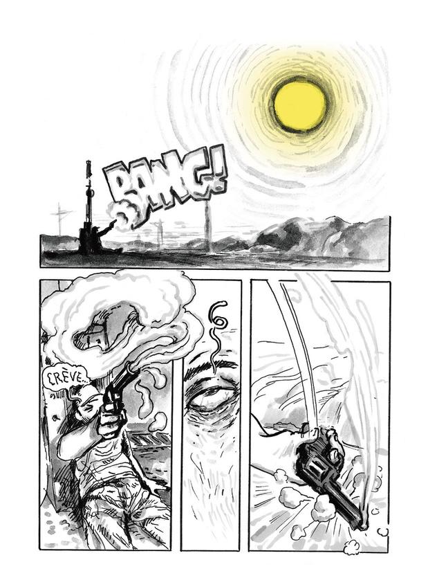 [la bd de la semaine] J'ai tué le soleil: Winshluss le tueur