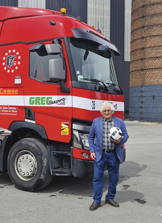 Portrait de Mario Franchi à la tête d'une société de camions et d'un club de foot