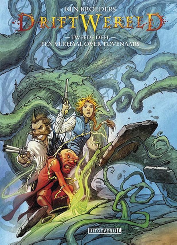 Een verhaal over tovenaars (Driftwereld 2)
