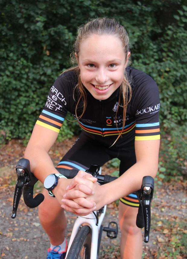 Triatlete Lotte Minnebo (TBT) gaat voor derde nationale titel