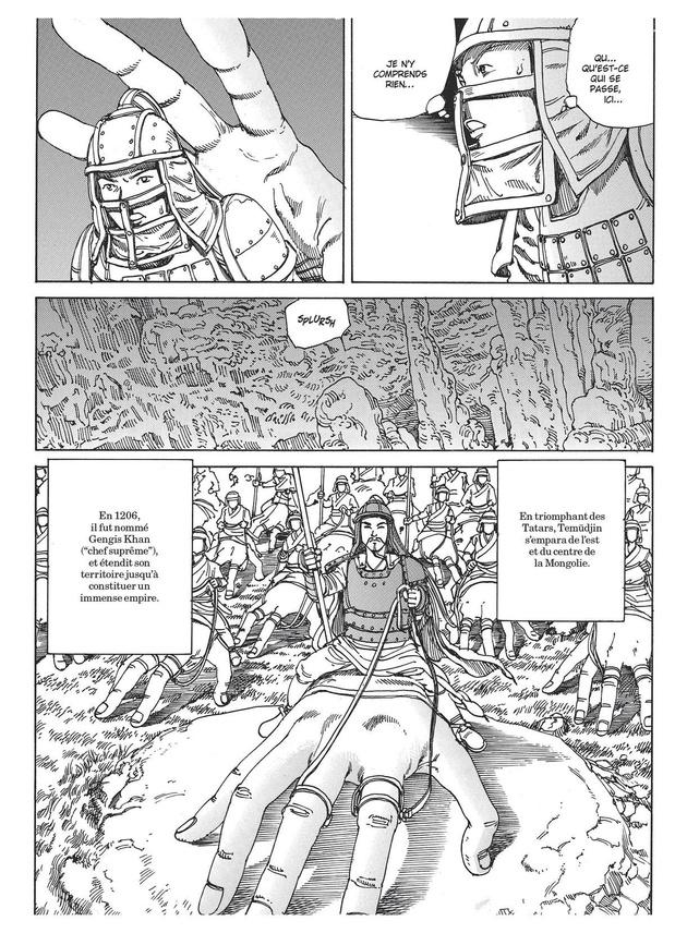 [la bd de la semaine] La Grande Invasion mongole, de Shintarô Kago: jeu de main, jeu de vilain