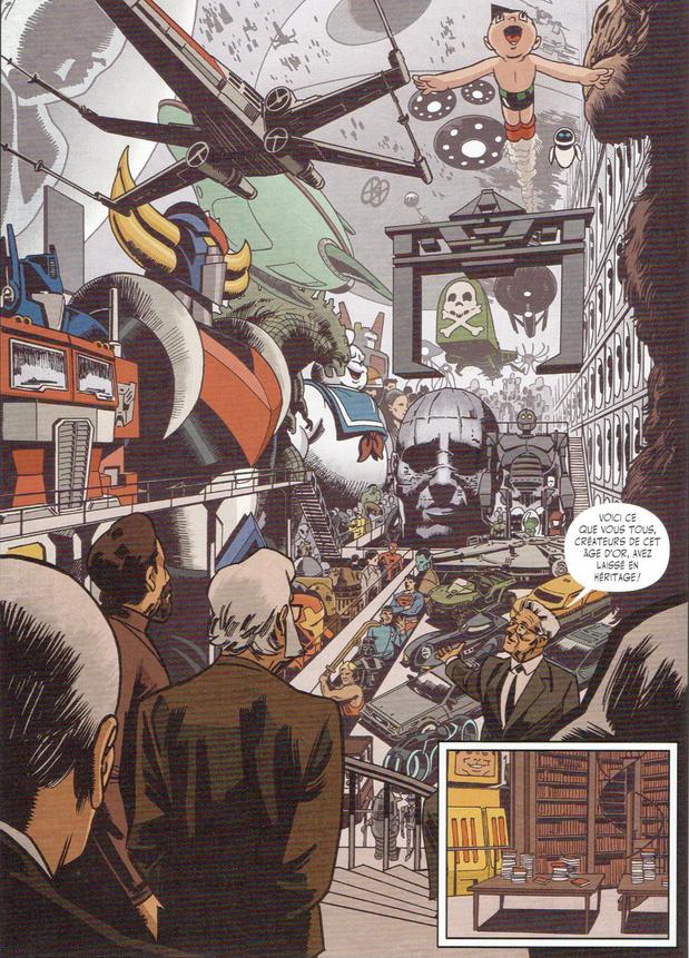 Histoire de la science-fiction en bande dessinée