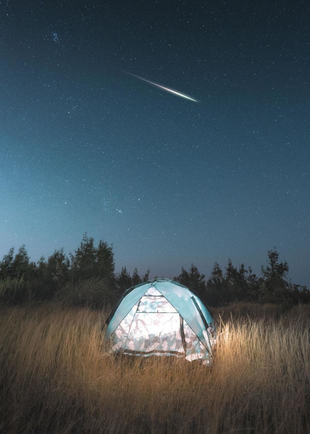 Le retour de la terre: bivouac à la belle étoile