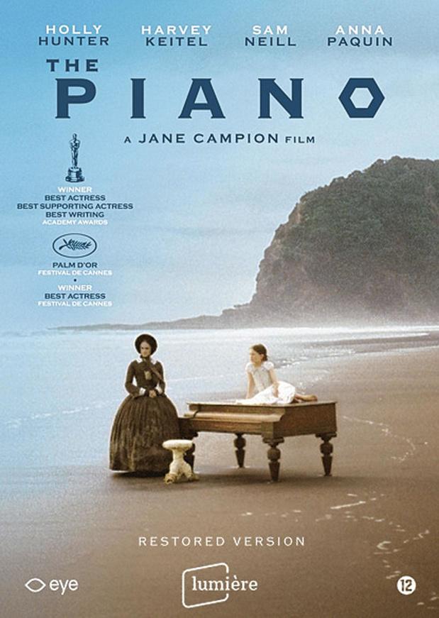 5x dvd The Piano