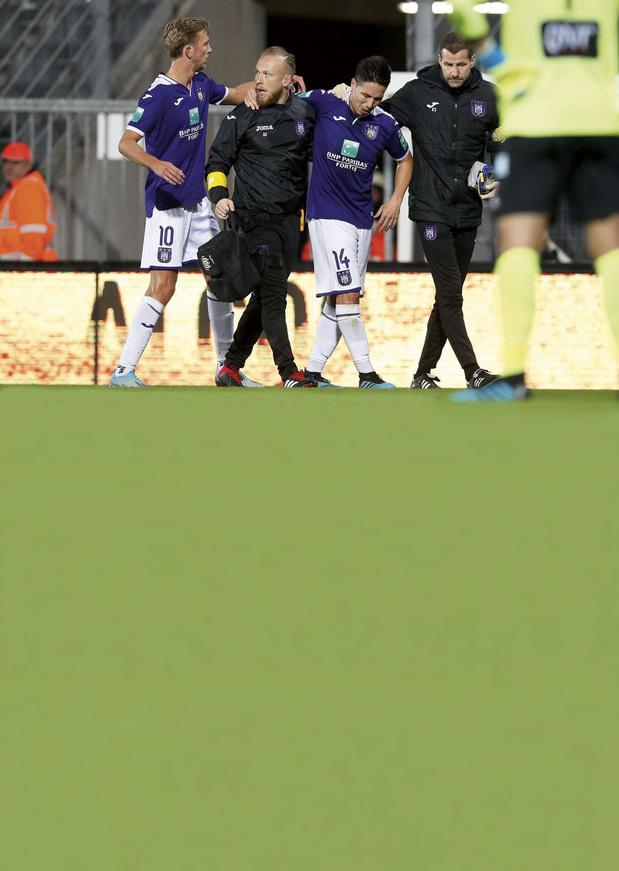 Anderlecht : l'infirmerie toujours pleine !