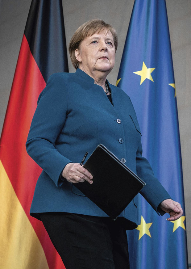 Un hommage à Angela Merkel, qui s'en va cet automne