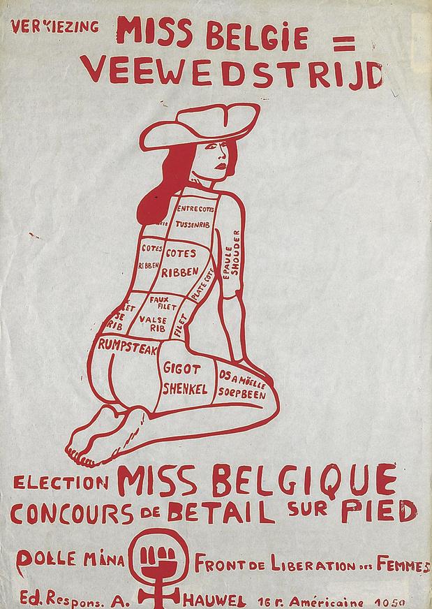 Une impressionnante expo féministe à Bruxelles