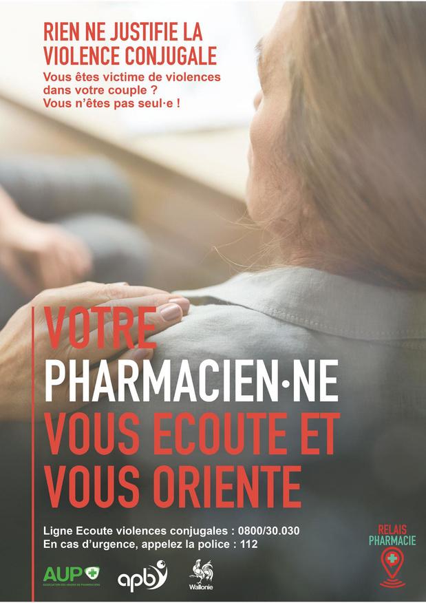La pharmacie, lieu de confiance pour les victimes de violences familiales