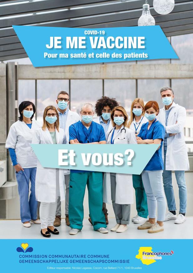 Vous êtes les maillons forts de la vaccination!