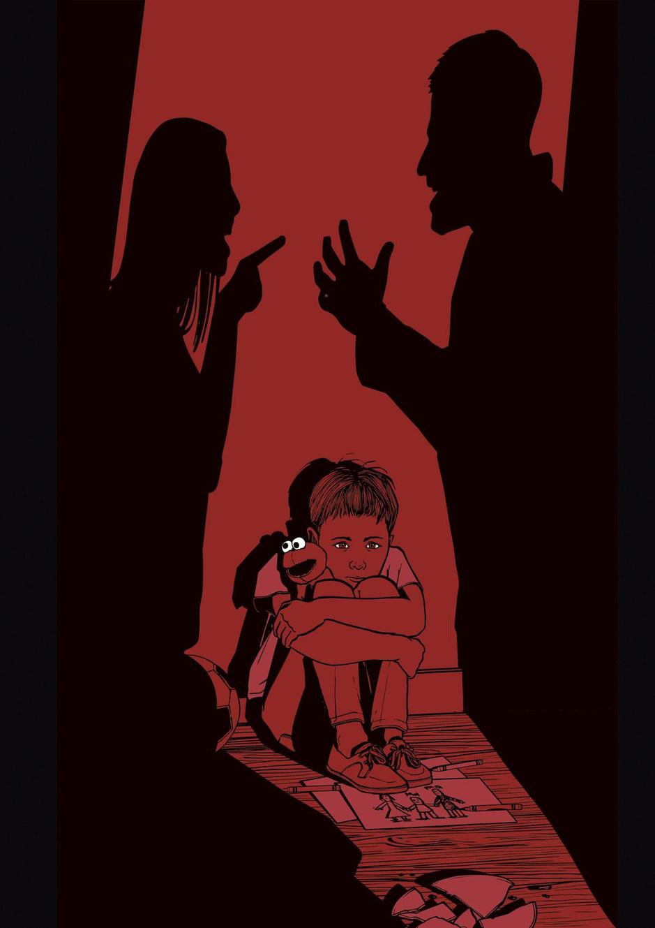"""""""Désormais, l'enfant reste parfois le seul enjeu pour que les adultes obtiennent justice pour eux-mêmes"""""""