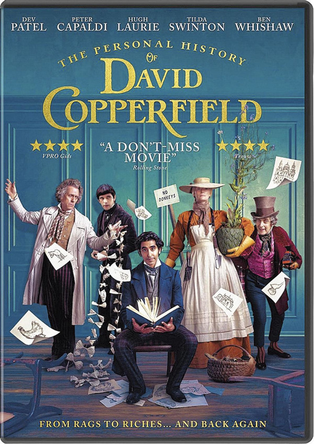 5x dvd The Personal History of David Copperfield