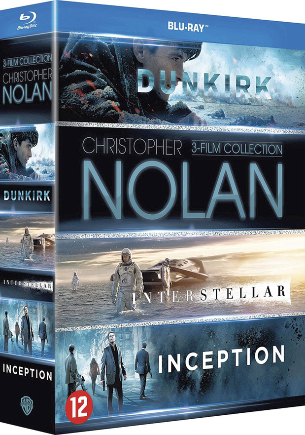 Christopher Nolan 3-Film Collection