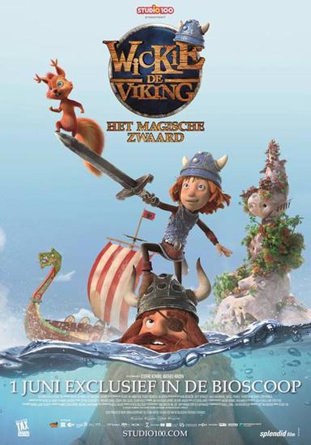 'Wickie de Viking, Het Magische Zwaard' eerste nieuwe familiefilm in heropende Nederlandse bioscopen