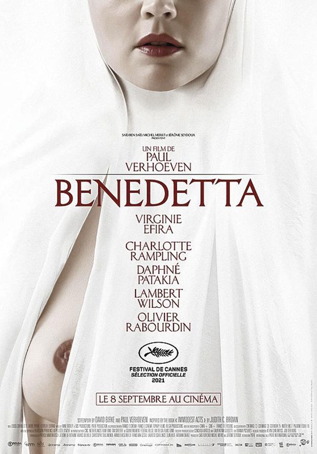 [critique ciné] Benedetta, farce datée et kitsch