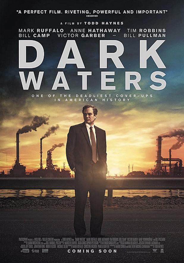 """[Critique ciné] Dark Waters, le combat héroïque et disproportionné des """"petits"""" contre les multinationales"""