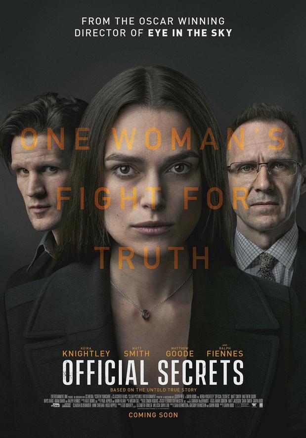 [Critique ciné] Official Secrets, thriller politique plus appliqué qu'inspiré