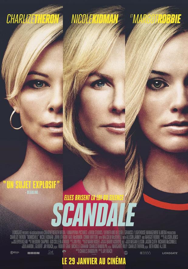 [Critique ciné] Scandale, un film puissant avec une Charlize Theron inouïe