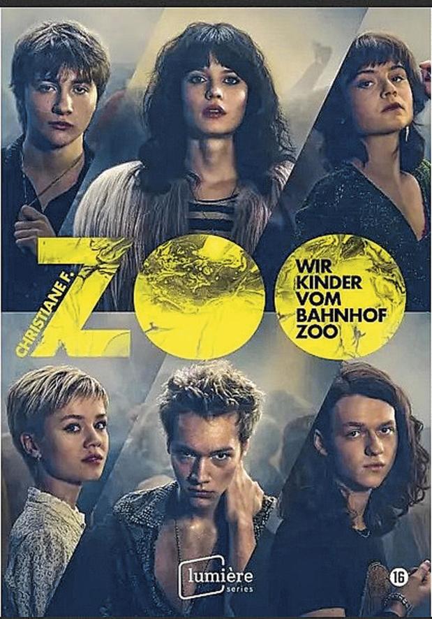 5x dvd Wir Kinder vom Bahnhof Zoo