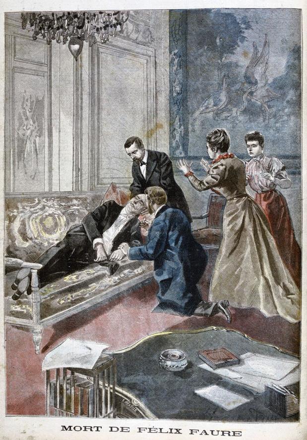Le 16 février 1899, le jour de la merveilleuse mort de Félix Faure