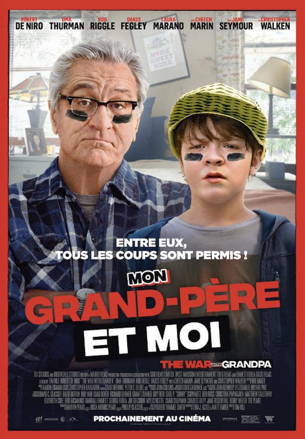 [Critique ciné] Mon grand-père et moi, comédie potache inoffensive
