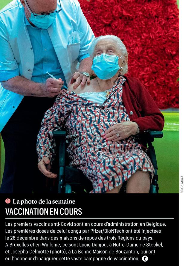 Vaccination en cours