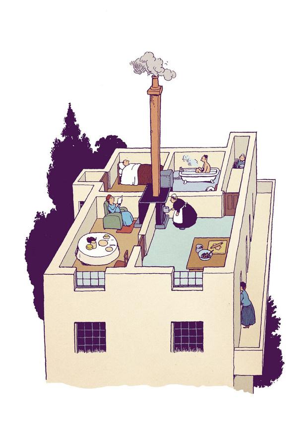 La philosophie de l'appartement