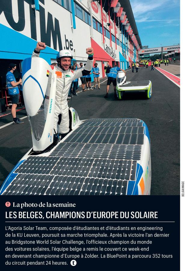 Les Belges, champions d'Europe du solaire