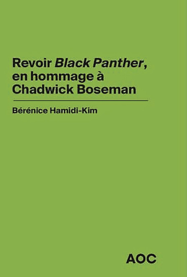 "Revoir "" Black Panther """