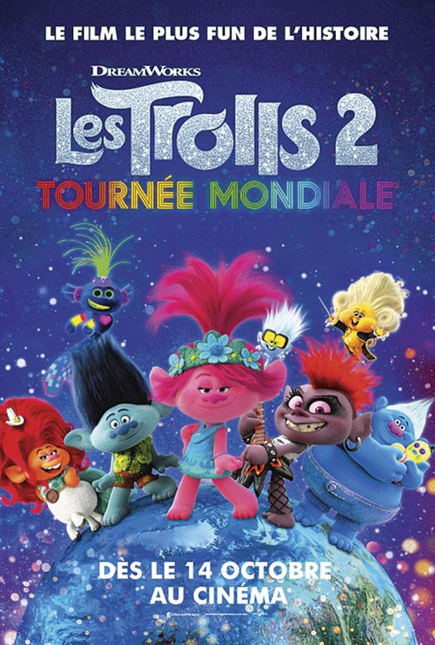 [Critique ciné] Les Trolls 2: Tournée mondiale, un gigantesque pot-pourri clippé